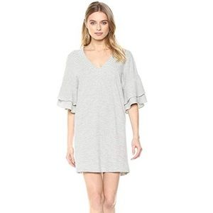 Lucky Brand Casual Dress with Ruffled Sleeves
